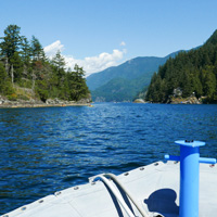 Indian Arm with Vancouver Water Adventures