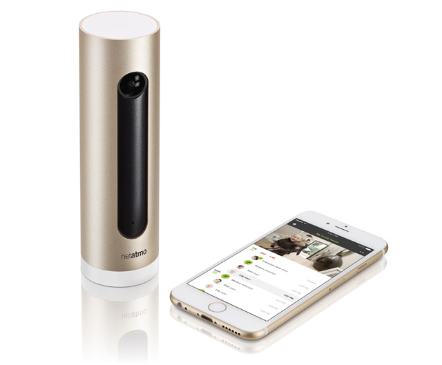 Netatmo with phone