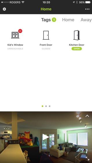 Netatmo Welcome App/Tags