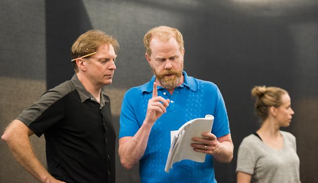 Alex Zahara, Director John Murphy, Lauren Bowler