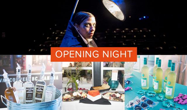 Fringe Festival opening night banner
