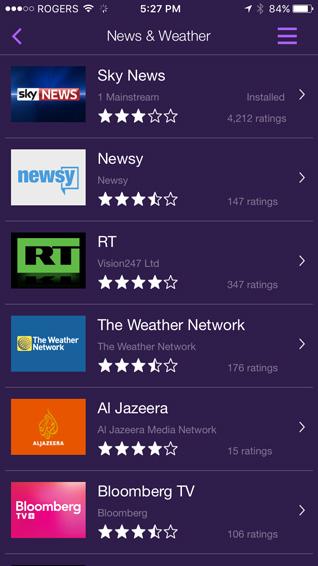 Roku News Weather