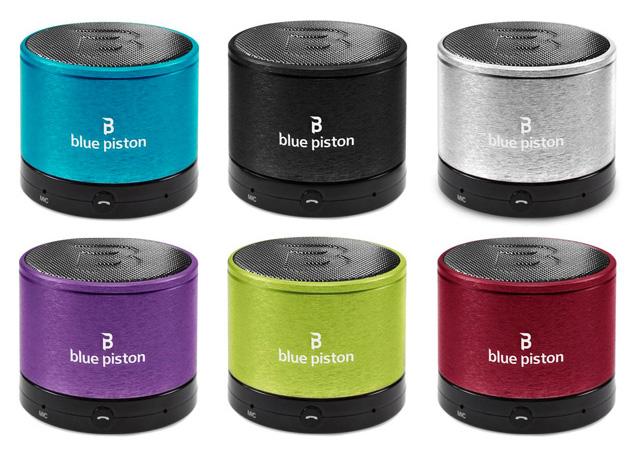 Logiix Blue Piston speakers