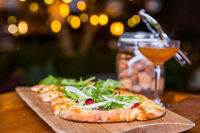 Duck Prosciutto Pizza