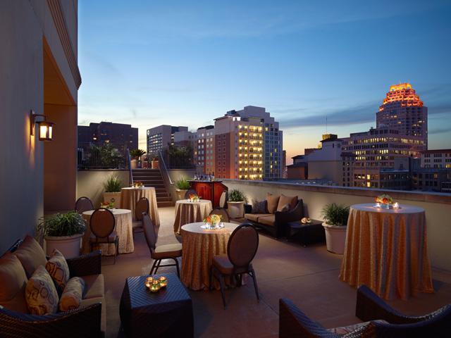 Mokara Hotel and Spa rooftop cafe