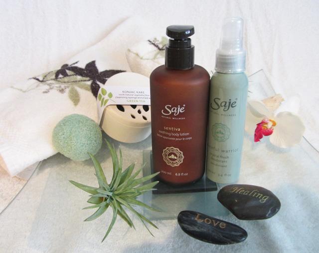 Saje Wellness products