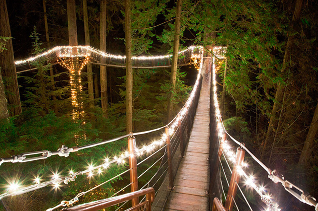 Capilano Suspension Bridge, North Vancouver
