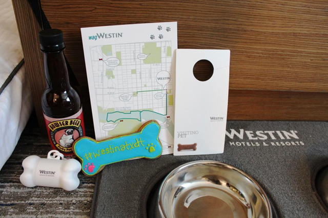 Westin Austin dog amenities