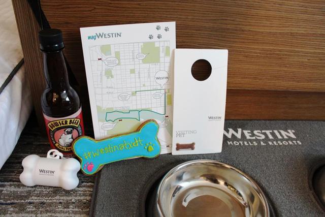 Westin Austin dog amenities