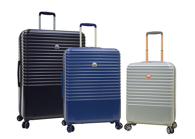 Delsey Caumartin Spinner Trolley in all 3 sizes