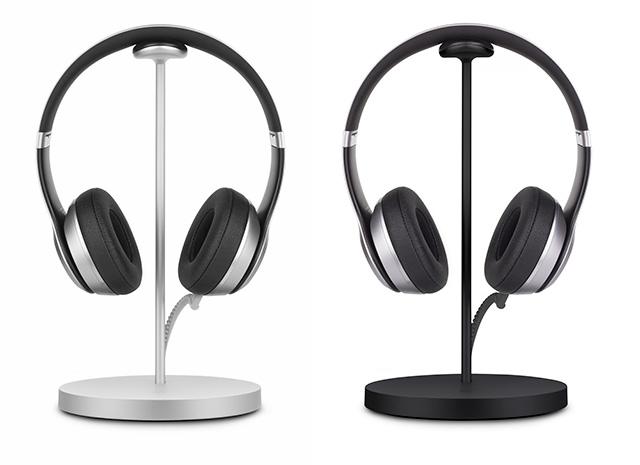 Fermata headphone stand