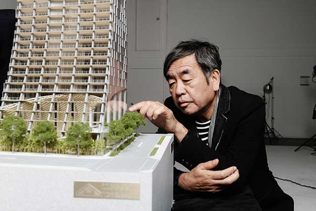 Kengo Kuma with Alberni by Kuma