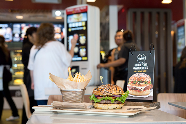 McDonalds build your own burger