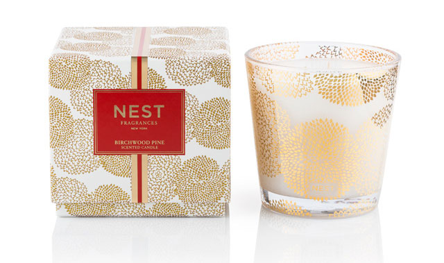 NEST Fragrances Birchwood Pine 3-Wick Candle