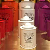 TWG Tea Salon & Boutique Opening
