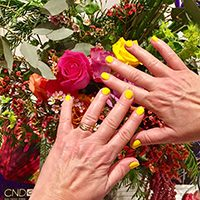 CND nails Banana Clip