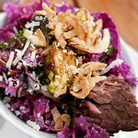 Ancient Grains salad, Railtown Cafe