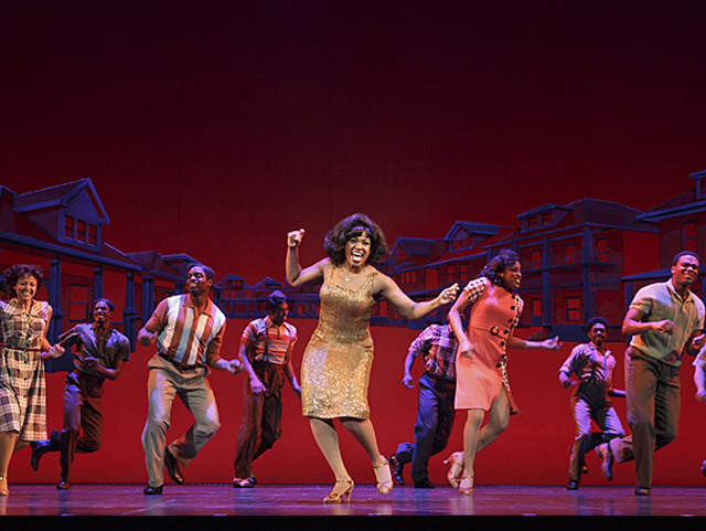 National tour cast of Motown The Musical