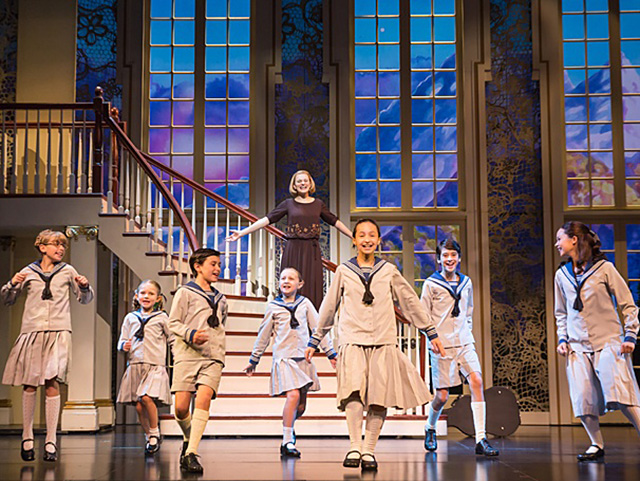 National tour cast of Rodgers-Hammersteins The Sound of Music