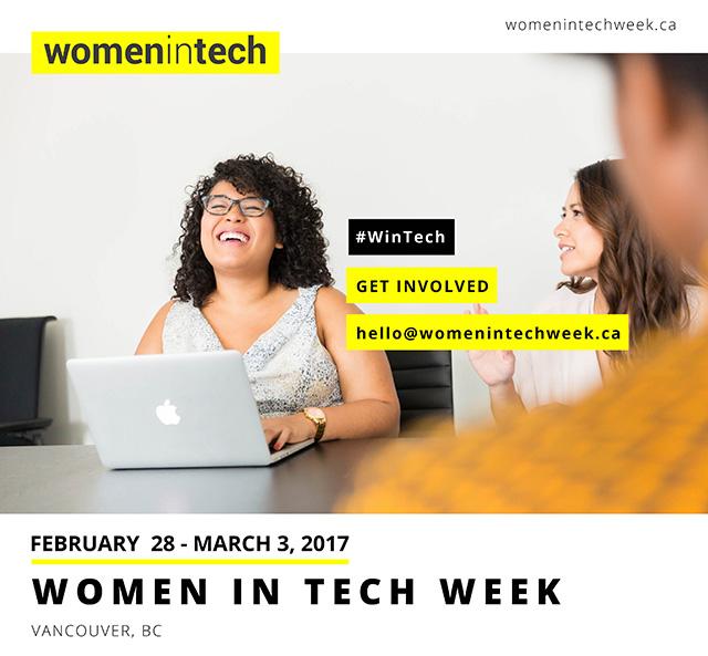 Women in Tech Week Vancouver