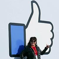 Ariane Colenbrander at Facebook Headquarters