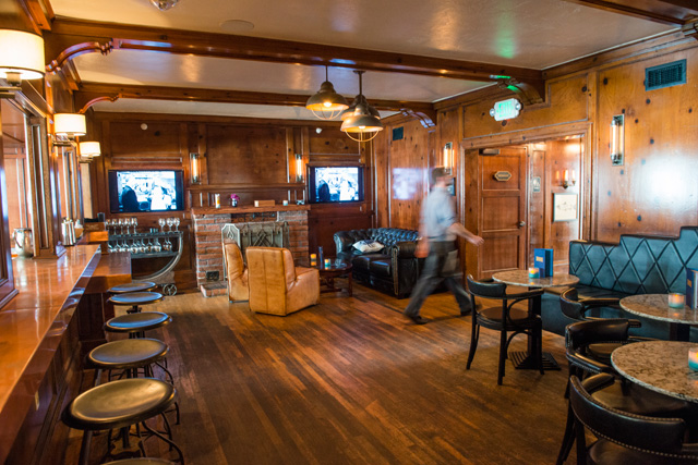 Stateroom bar, Driftwood Kitchen