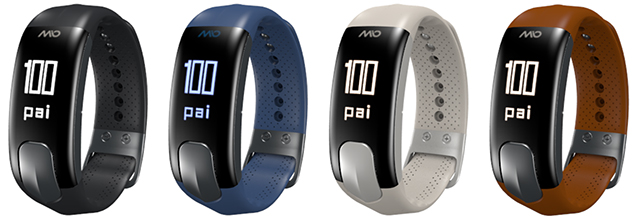 Mio SLICE heart rate tracker