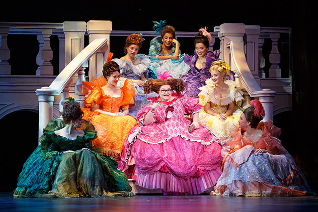 Company of Rodgers and Hammerstein's Cinderella