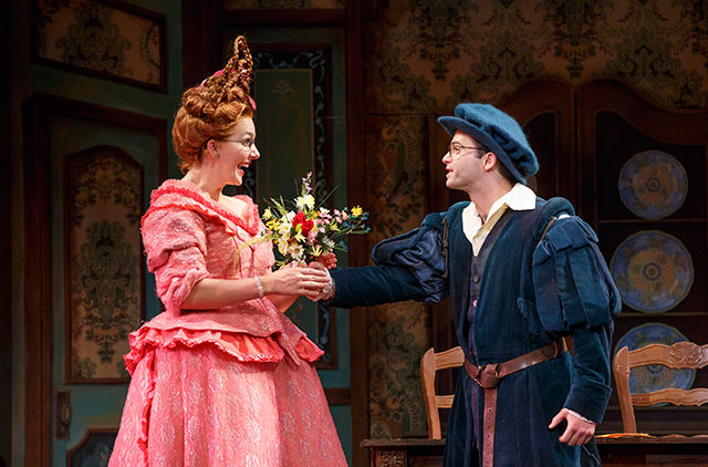 Mimi Robinson and Chris Woods in Rodgers and Hammerstein's Cinderella