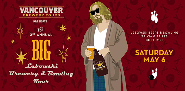 Second Annual Big Lebowski Brewery and Bowling Tour