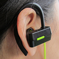 iClever headphones, Vancouverscape
