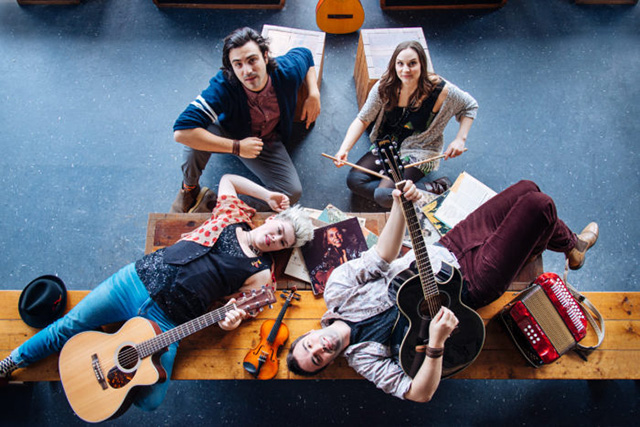 Circle Game cast at Firehall Arts Centre