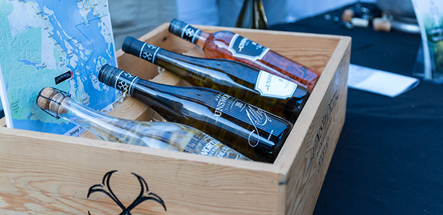 Pelican Bay spring wine tasting, Vancouver