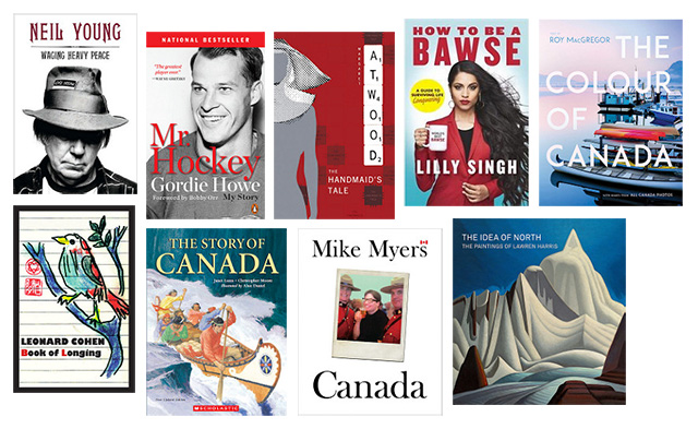 Canada at 150 books, Indigo