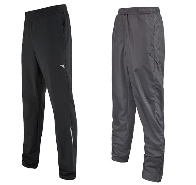 Diadora Mens Textured Woven Track Pants