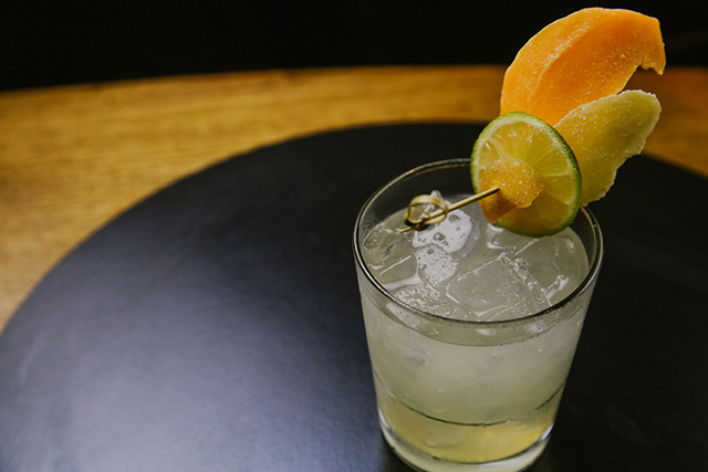 Emerald cocktail