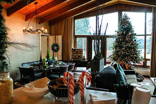 Jasper Park Lodge interior