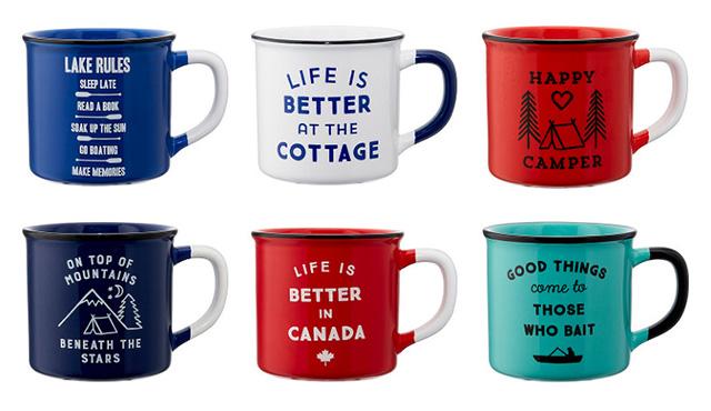 Canadiana Mugs