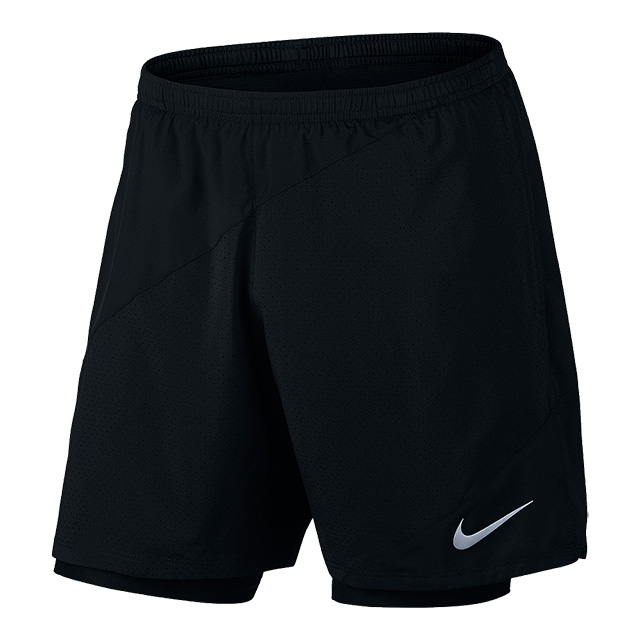 Nike Mens Flex 2-in-1 Running Shorts