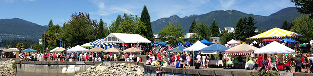 Canada Day, North Vancouver