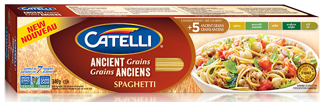 Ancient Grains spaghetti