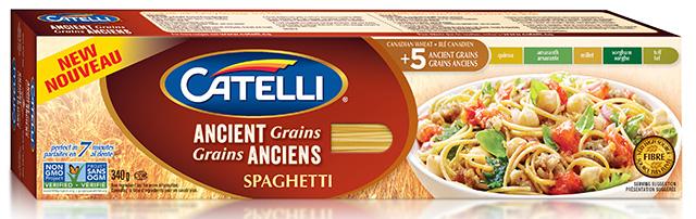 Ancient Grains spaghetti