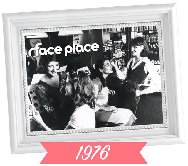 Face Place before Benefit, 1976
