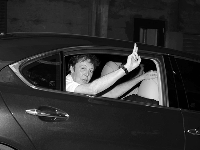 Paul McCartney at Frontenac