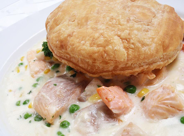 Joe Fortes seafood Pot Pie
