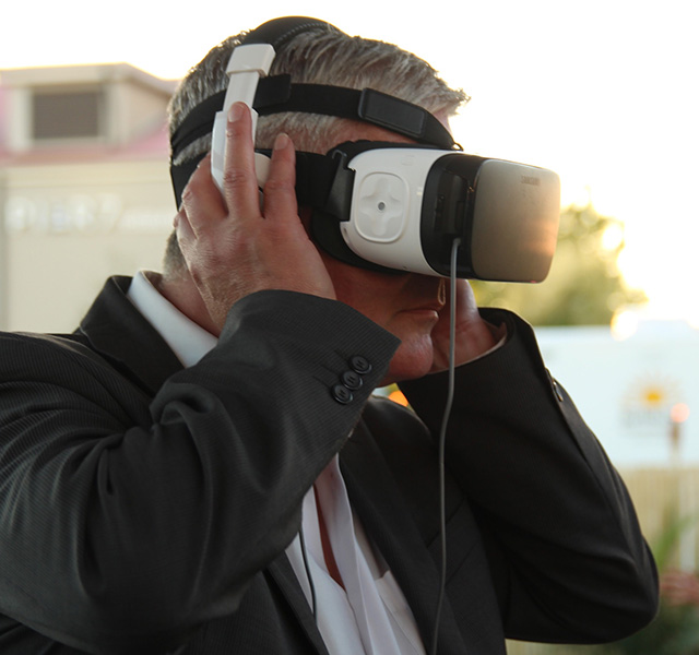 VR rum experience