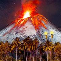 Flor de Cana Under an Ice Volcano