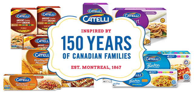 Catelli pasta collection