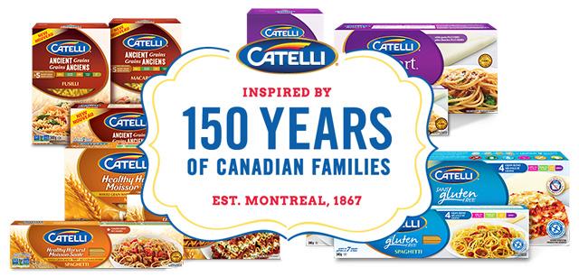 Catelli pasta collection