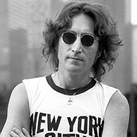 John Lennon photo by Bob Gruen